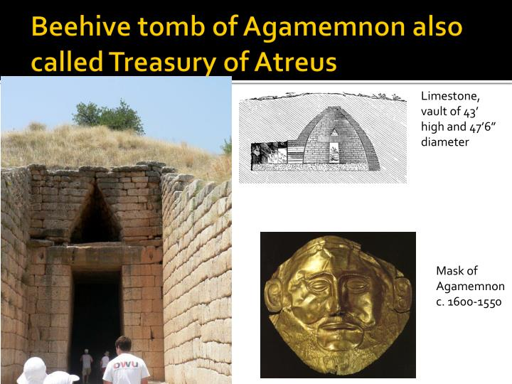 Beehive tomb of Agamemnon also called Treasury of Atreus