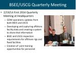 bsee uscg quarterly meeting