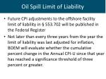 oil spill limit of liability1