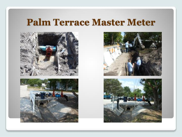 Palm Terrace Master Meter