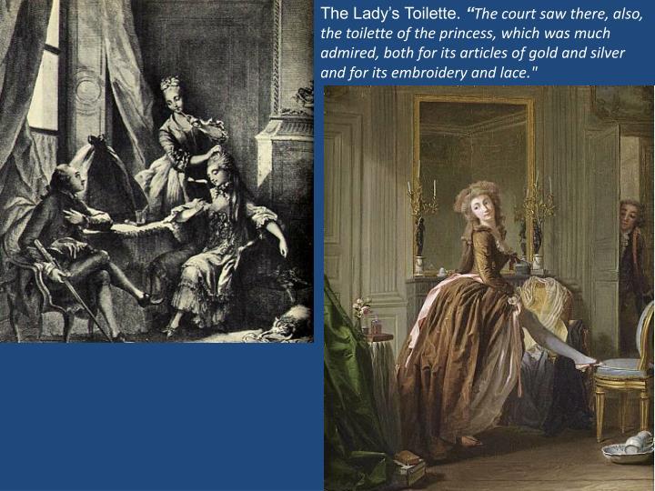 The Lady's Toilette