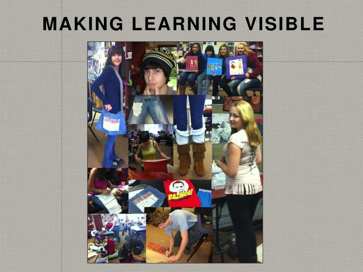 Making Learning Visible