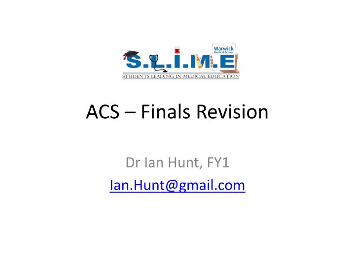 acs finals revision n.
