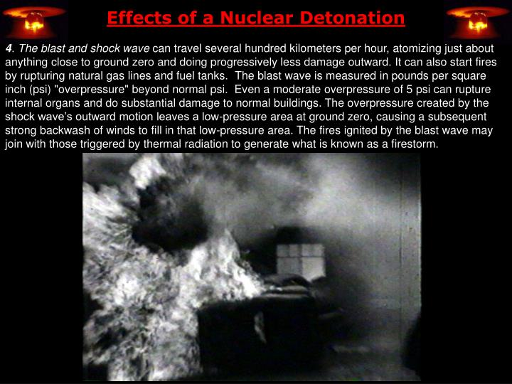 Effects of a Nuclear Detonation