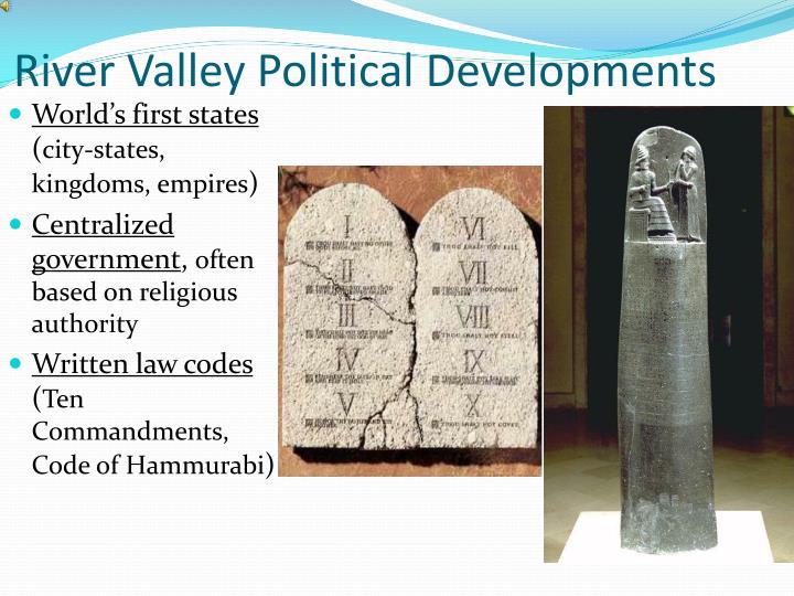 River Valley Political Developments