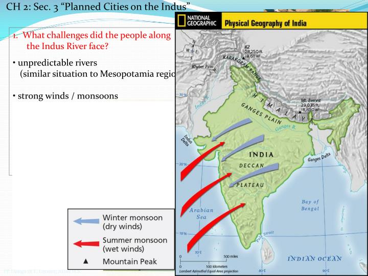 """CH 2: Sec. 3 """"Planned Cities on the Indus"""
