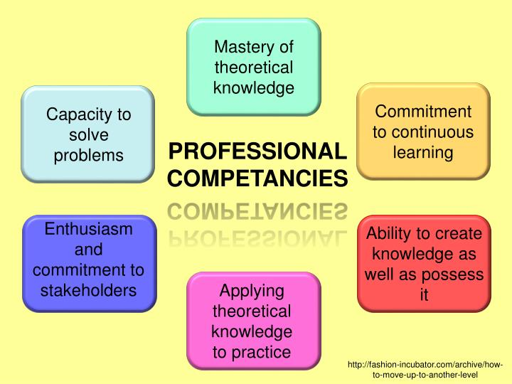 Mastery of theoretical knowledge