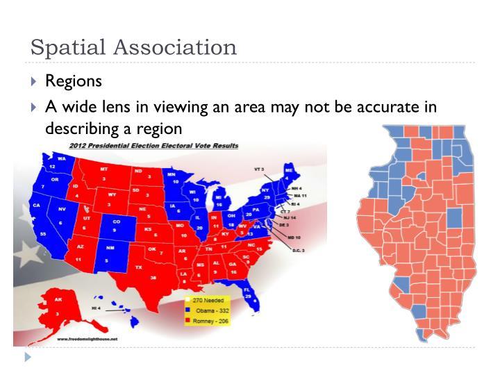 Spatial Association