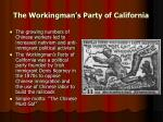 the workingman s party of california
