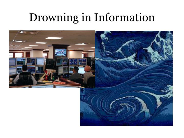 Drowning in information