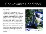 conveyance condition2