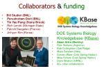 collaborators funding