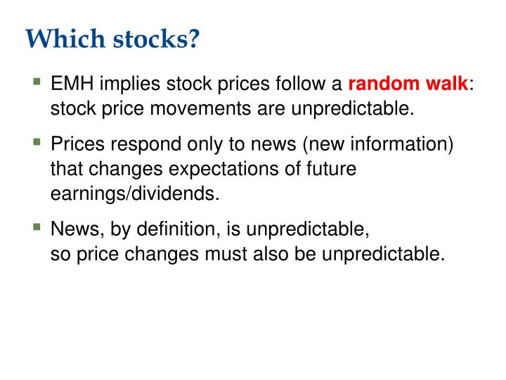 Which stocks?