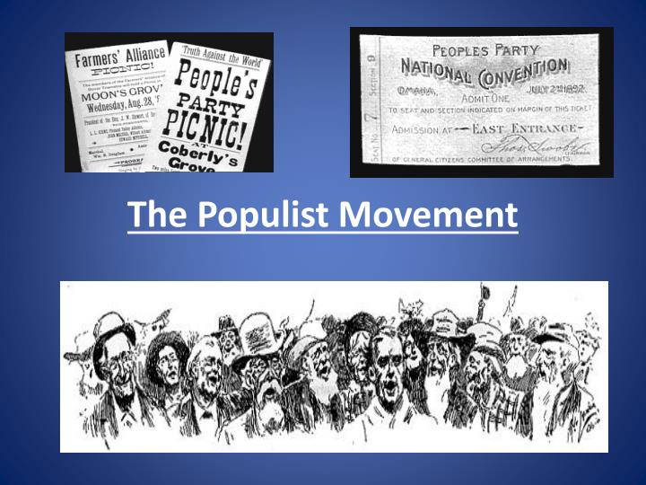 an analysis of populist movement Nationalism in america: the case of the populist movement  populist movement of late 19th century america as our case  we first provide an analysis of the.