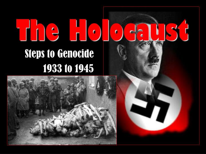 steps to genocide 1933 to 1945 n.