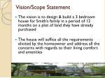 vision scope statement