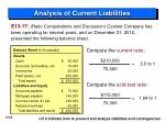 analysis of current liabilities1