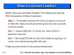 what is a current liability9