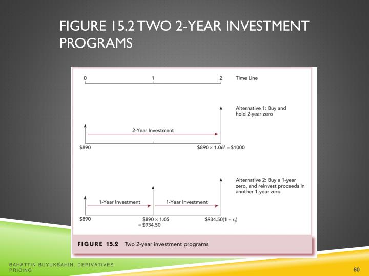 Figure 15.2 Two 2-Year Investment Programs