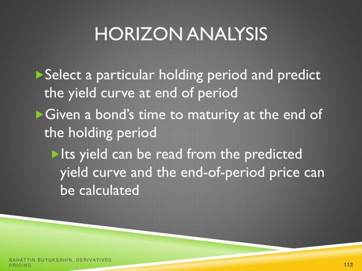Horizon Analysis