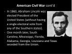 american civil war cont d1
