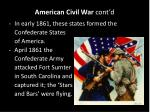 american civil war cont d2