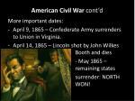 american civil war cont d5