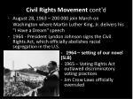 civil rights movement cont d4