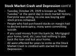 stock market crash and depression cont d3
