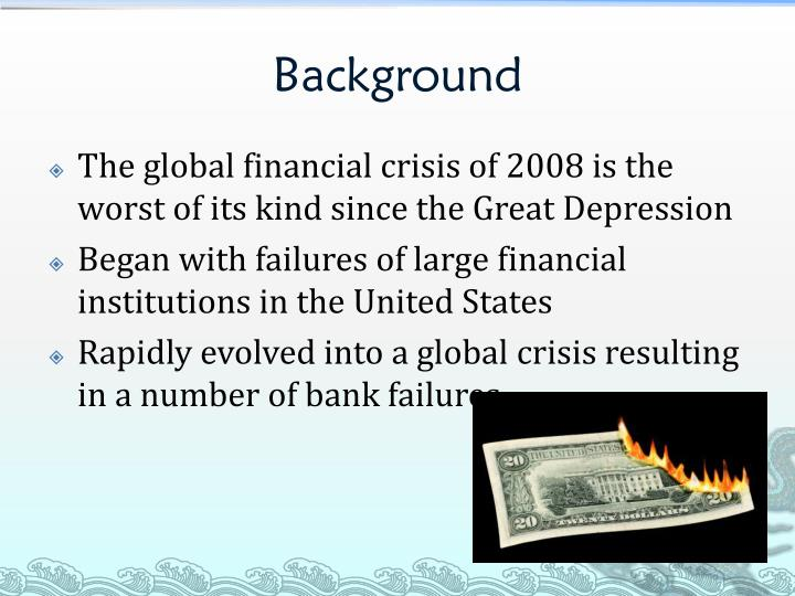 2008 financial crisis the large financial institution The cause of the 2008 financial crisis  (most recently barack obama financial advisors) who gave large bonuses to themselves and other clinton appointees by.