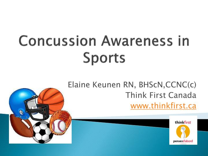 concussion awareness in sports n.