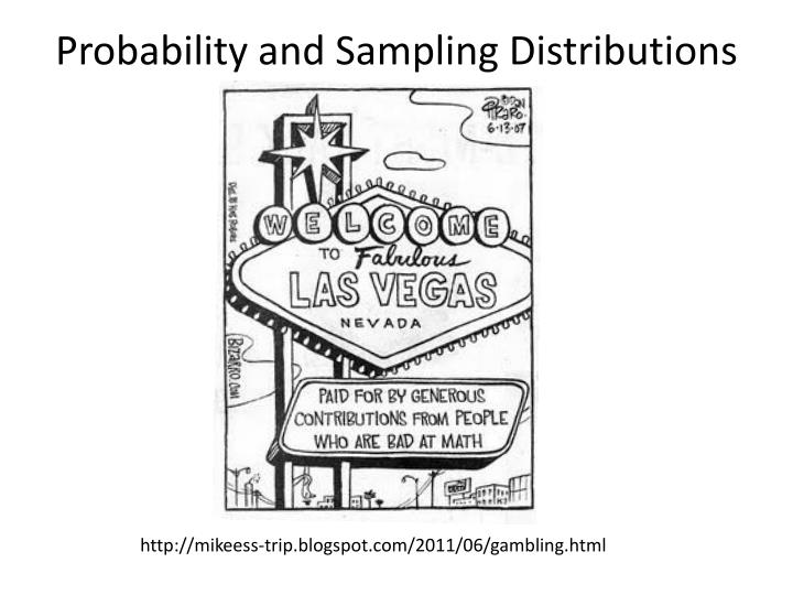 probability and sampling distributions n.