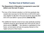 the new cost of stafford loans