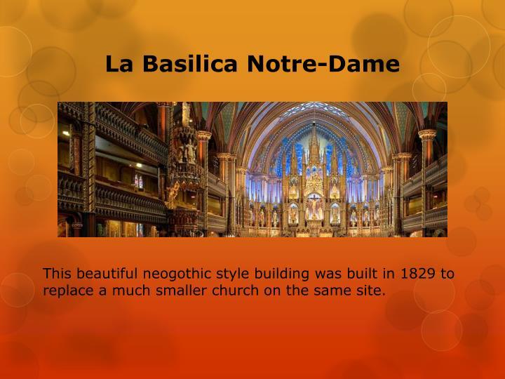 La basilica notre dame