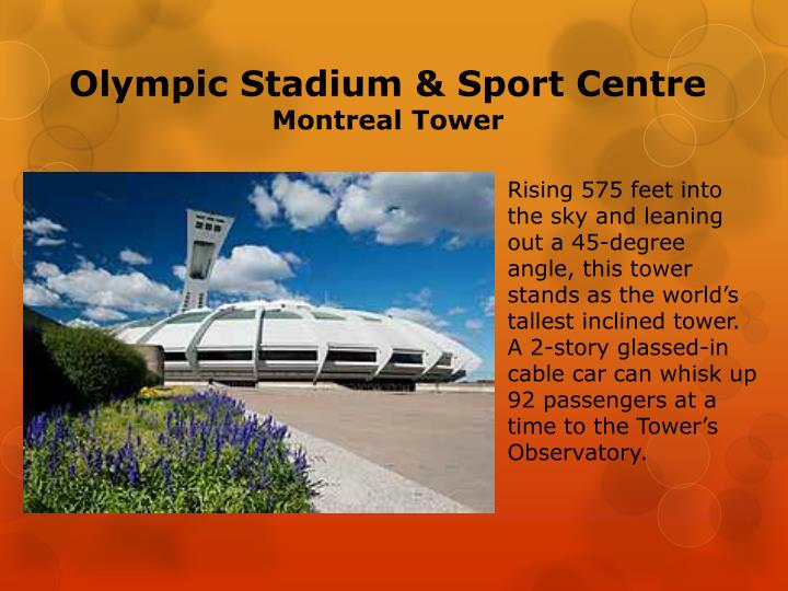 Olympic Stadium & Sport Centre