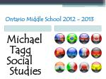 ontario middle school 2012 201329