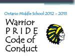 ontario middle school 2012 201356