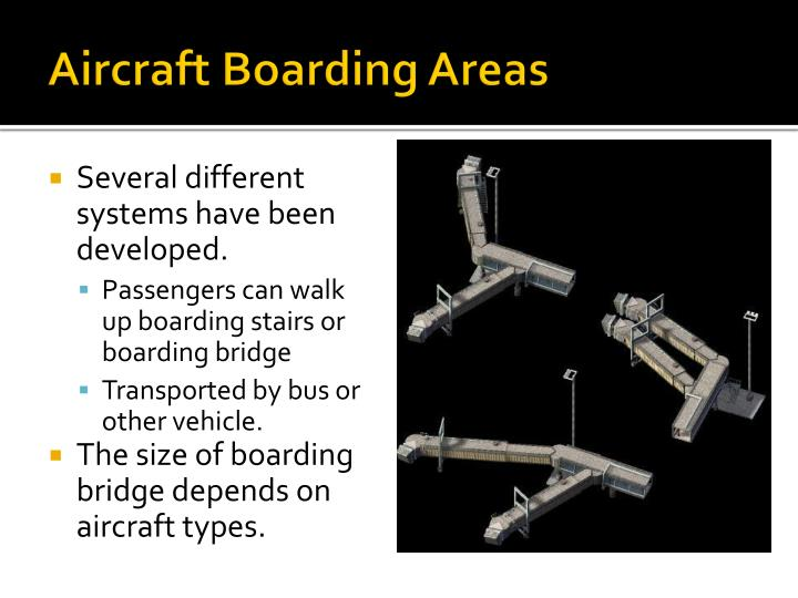 Aircraft Boarding Areas