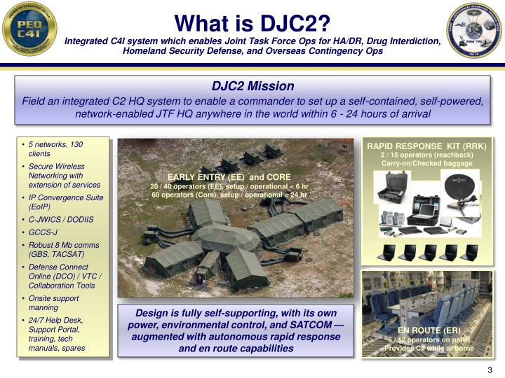 What is DJC2?