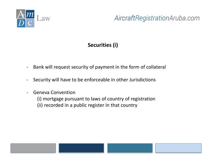 Securities (