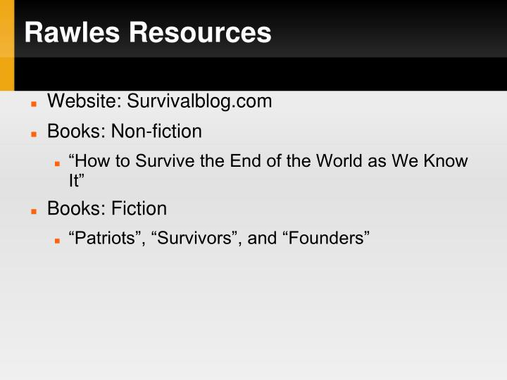 Rawles Resources