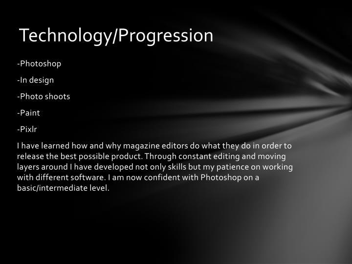 Technology/Progression