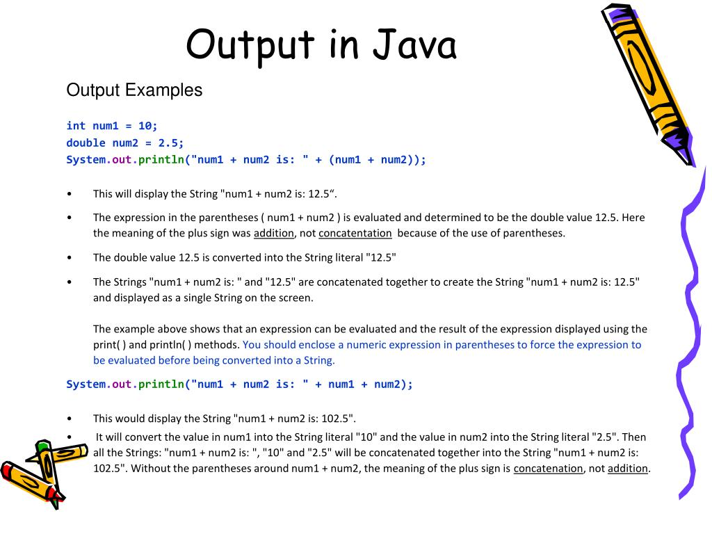 PPT - Java Quick Reference Guide PowerPoint Presentation