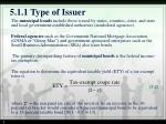 5 1 1 type of issuer2
