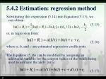 5 4 2 estimation regression method1