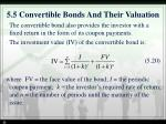 5 5 convertible bonds and their valuation1