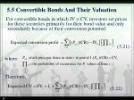 5 5 convertible bonds and their valuation3