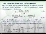 5 5 convertible bonds and their valuation6