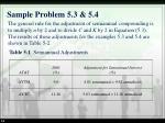 sample problem 5 3 5 4