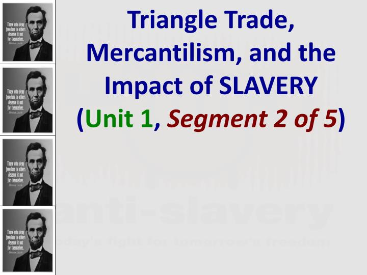 what are the characteristics of mercantilism in colonial america